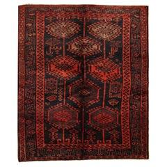 Handmade Carpet Oriental Wool Area Rug, Traditional Vintage Rugs
