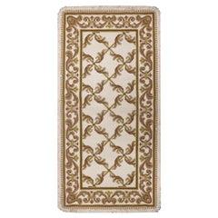 Handmade Carpet Portuguese Style Needlepoint Wool Area Rug