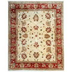 Handmade Carpet Rug Floral Area Rug Ziegler Style Rug