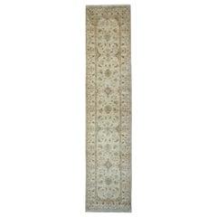 Handmade Carpet Runner Traditional Zeigler style Sultanabad Rug
