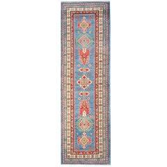 Handmade Carpet Runners, Persian Rugs Oriental from Kazak Blue Runner Rugs