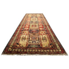 Handmade Carpet Runners Rugs, Area Rugs, Geometric Stair Runner Oriental Rug