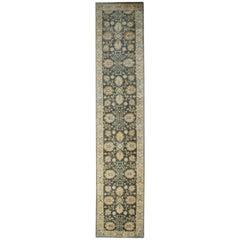 Handmade Carpet Ziegler Style Saltanabad Runner Rug