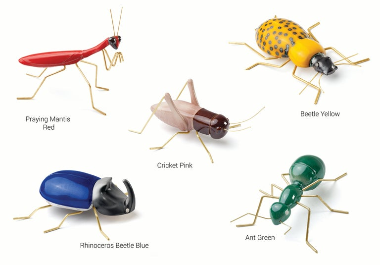 Handgefertigte Keramik Accessoires Fauna Farben Kollektion 2