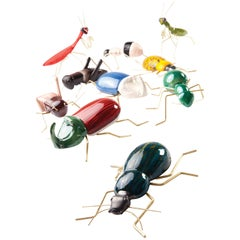 Handgefertigte Keramik Accessoires Fauna Farben Kollektion