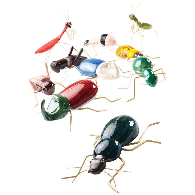 Handgefertigte Keramik Accessoires Fauna Farben Kollektion 1