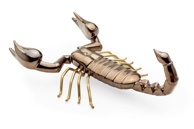 Handgefertigte Keramik Accessoires Fauna Gold Kollektion 4