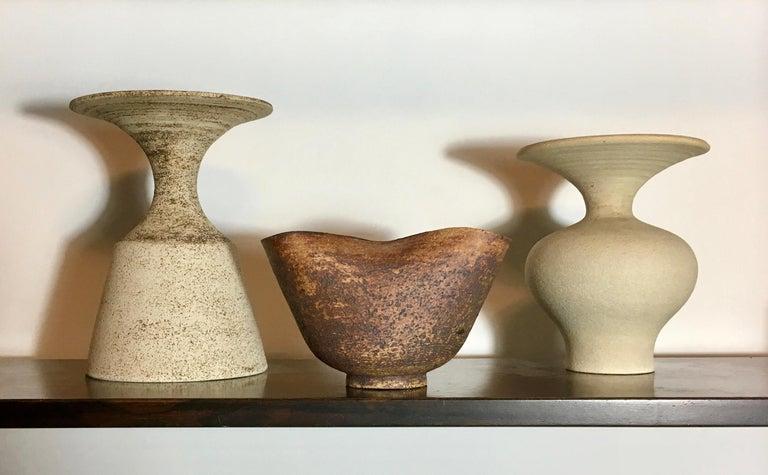 Handmade Ceramic Vessel by Waistel Cooper, England, 20th Century For Sale 7