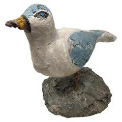 Handmade Concrete Bird