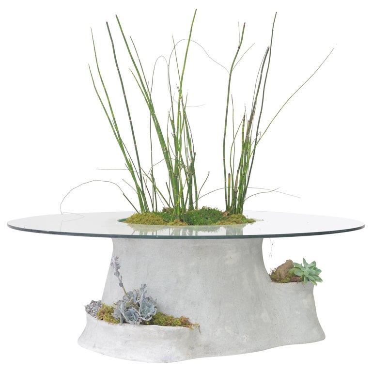 OPIARY Concrete Coffee Table For Sale
