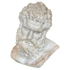 Handmade Ercole Farnese Plaster Sculpture, Italy, 1960s