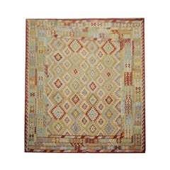 Handmade Carpet Kilim Rugs Kelim Traditional Oriental Rugs, Carpet for Sale