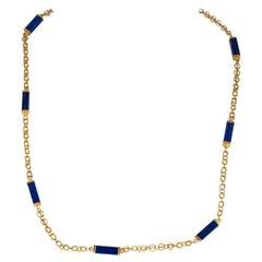 Handmade, Lapis Lazuli Link, Quality Chain
