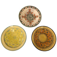 Handmade Large Colorful Ceramic Serving Decorative, Center Table Plates