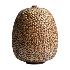 Handmade Midcentury Style Ceramic Vase / Interior Sculpture / Wabi Sabi Vessel