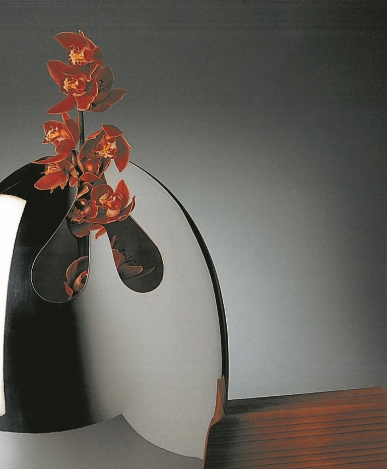 Handgefertigte Moderne Versilberte Vase