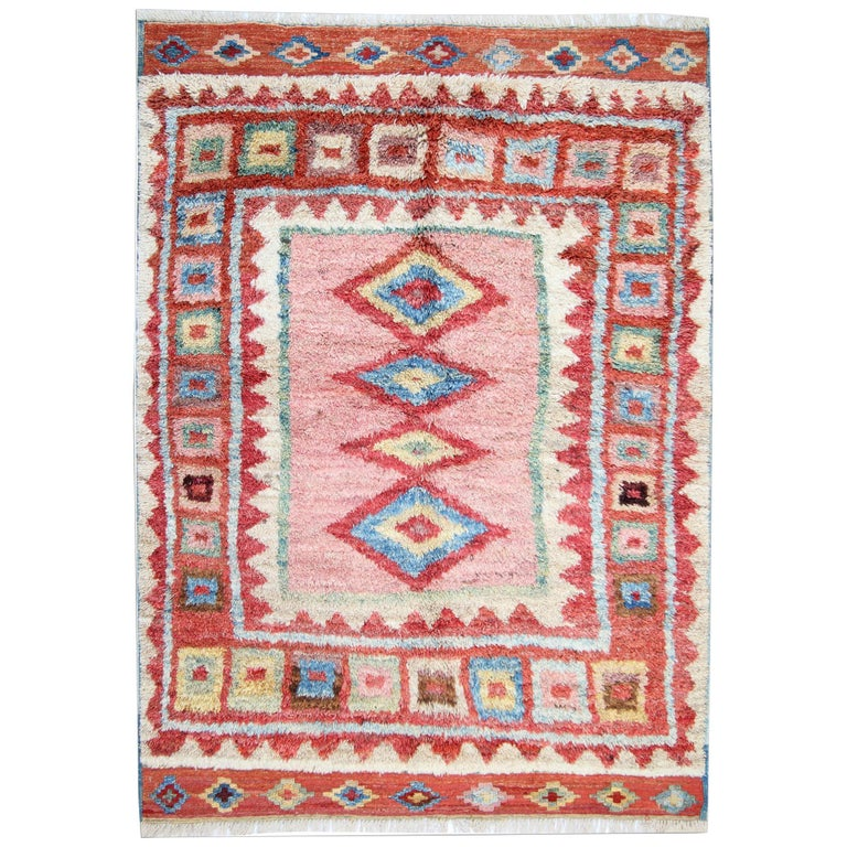 Moroccan Rugs Pink