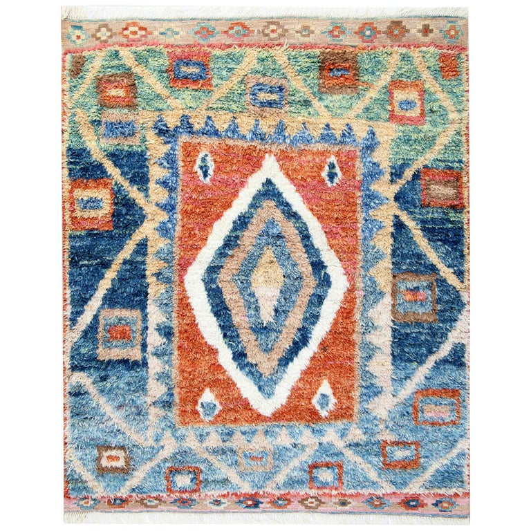 Moroccan Rugs Red And Blue
