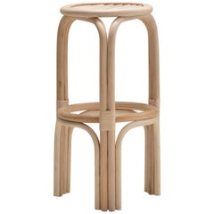 Handmade Natural Rattan Alache High Bar Stool