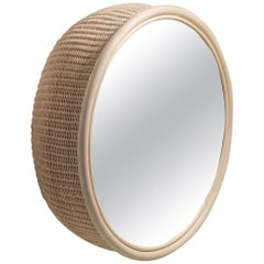 Handmade Natural Rattan Azalea Wall Mirror