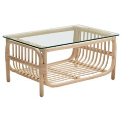 Handmade Natural Rattan Dalia Medium Coffee Table