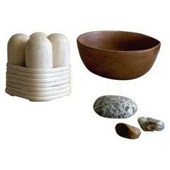 Handmade Natural Rattan Jicore Candleholder