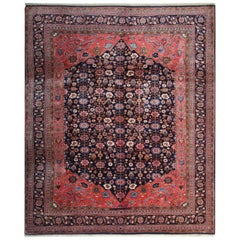 Handmade Oriental Rug Tribal Wool Carpet