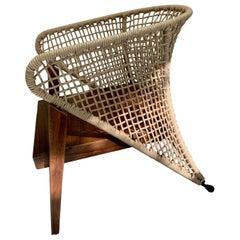 """Handmade Outdoor """"Canoa"""" Armchair"""