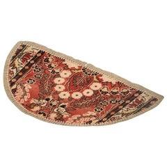 Handmade Rug Wool Entrance Mat, Traditional Refurbished Carpet Door Mat for Sale