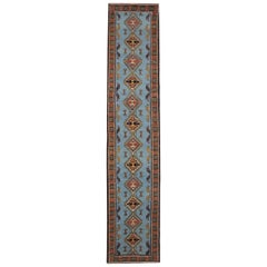 Handmade Rugs Blue Runners and Rugs Oriental Carpets Area Rug