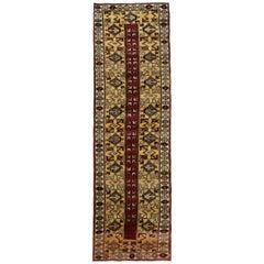 Handmade Runners and Rugs, Geometric Carpet Wool Runner Rug