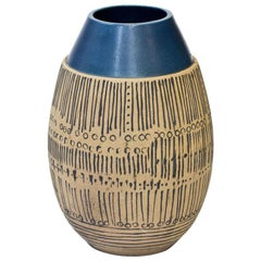 Handmade Stoneware Floor Vase by Lisa Larson for Gustavsberg, Sweden, 1960s
