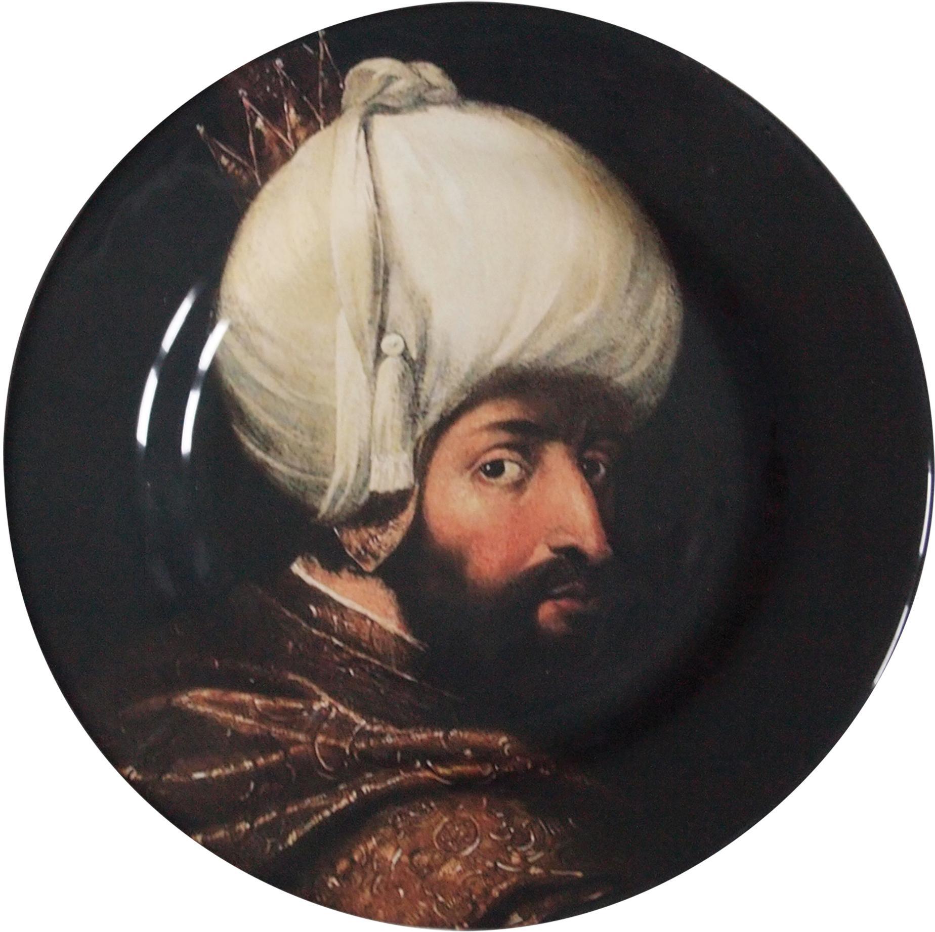Handmade Sultan Bejazet Ceramic Dinner Plate