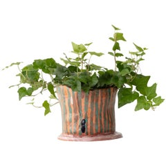 Handmade Terracotta Double Line Pot Unique Edition