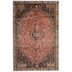 Handmade Tribal Area Rug, Oriental Vintage Carpet Traditional Rug