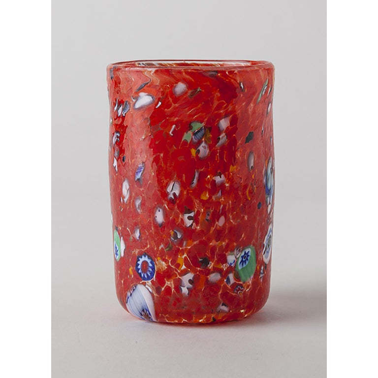 The goto (Venetian dialect word for cup) was the typical drinking cup hand blown by the glass master with his own artistic mind. To keep hydrated, in front of the roaning 1000° C furnaces, glass masters drank lots of water and lots of wine! Bring a