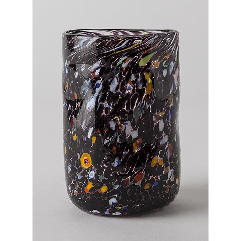 Handmade Unique Murano Glass Drinking Glass Goto In New Condition For Sale In Murano, IT