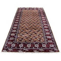 Handmade Vintage Afghan Baluch Rug, 1970s, 1Q0002