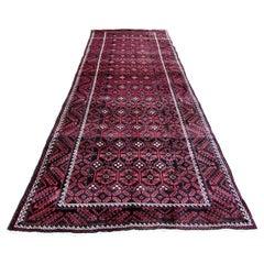 Handmade Vintage Afghan Baluch Rug, 1970s, 1Q0077