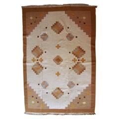 Handmade Vintage Ardabil Style Kilim, 1960s, 1C669