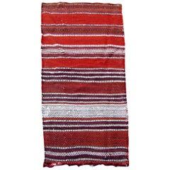 Handmade Vintage Ardabil Style Kilim, 1960s, 1Q0055