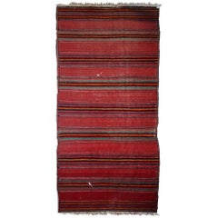 Handmade Vintage Ardabil Style Rug, 1940s, 1C596