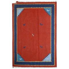 Handmade Vintage Gabbeh Style Kilim, 1960s, 1C516