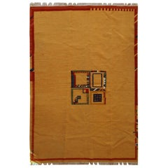 Handmade Vintage Gabbeh Style Kilim, 1970s, 1C582