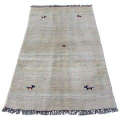Handmade Vintage Gabbeh Style Rug, 1970s, 1Q0017