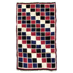 Handmade Vintage Gabbeh Style Rug, 1970s, 1Q0164