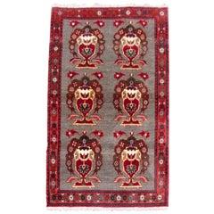 Handmade Vintage Gabbeh Style Rug, 1980s, 1Q0289