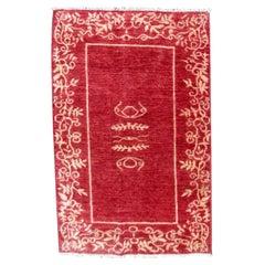 Handmade Vintage Gabbeh Style Rug, 1980s, 1Q0299