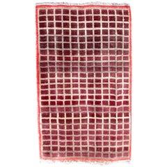 Handmade Vintage Gabbeh Style Rug, 1980s, 1Q0317