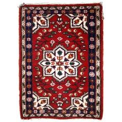 Handmade Vintage Hamadan Style Rug, 1970s, 1C653